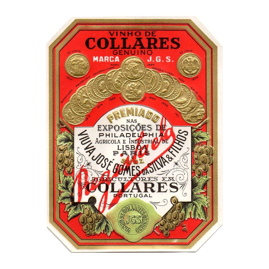 Wine Viuva Gomes Ramisco Collares 2008 500ml