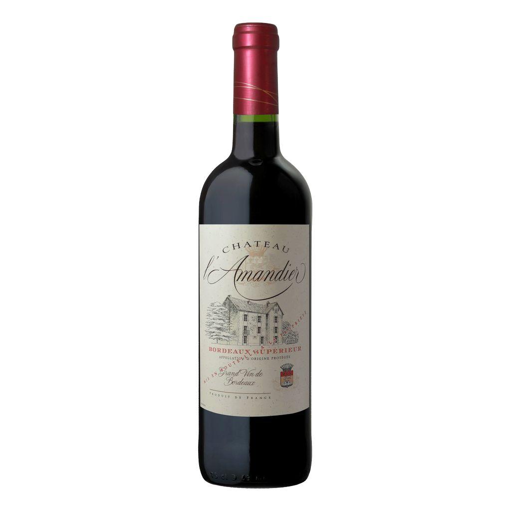 Wine Chateau L'Amandier Bordeaux Superieur 2015