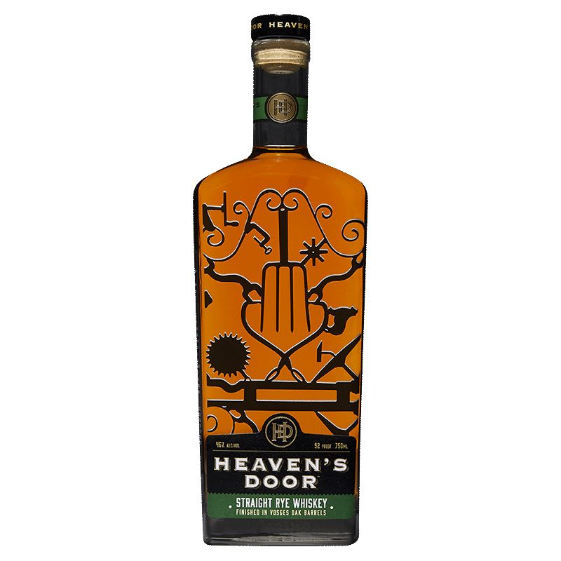 Spirits Heaven's Door Straight Rye Whiskey