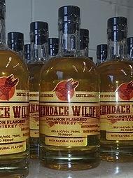 Spirits Lake George Distilling Adirondack Wildfire Cinnamon Whiskey 375ml