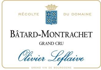 Wine Olivier Leflaive Batard Montrachet Grand Cru 2014