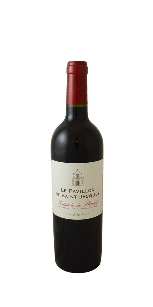 Wine Le Pavillon de Saint Jacques Lalande de Pomerol 2014