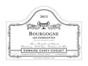 Wine Domaine Chavy-Chouet Bourgogne Blanc Les Femelottes 2015