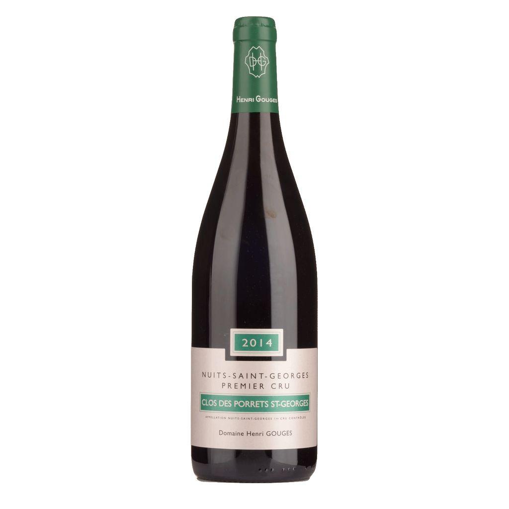 Wine Domaine Henri Gouges Nuits St Georges Rouge Premier Cru Clos des Porrets St Georges 2014