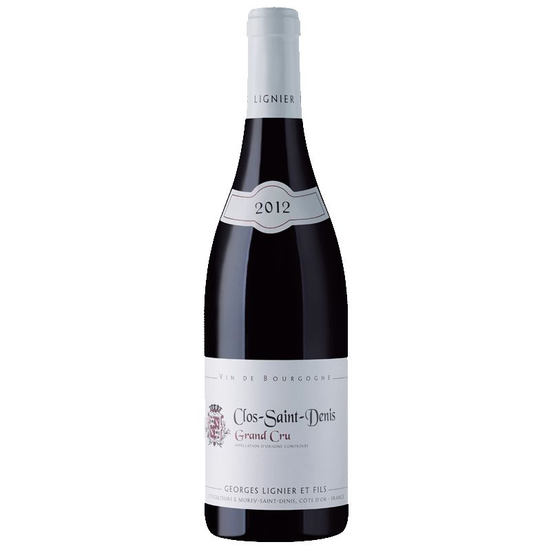 Wine Georges Lignier Clos Saint Denis Grand Cru 2012