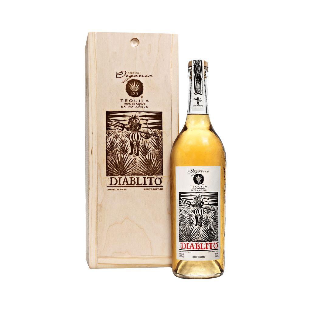 Spirits 123 Organic Tequila Exra Anejo Diablito owc