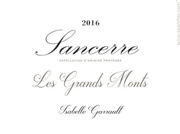 Wine Isabelle Garrault Sancerre Les Grands Monts 2016