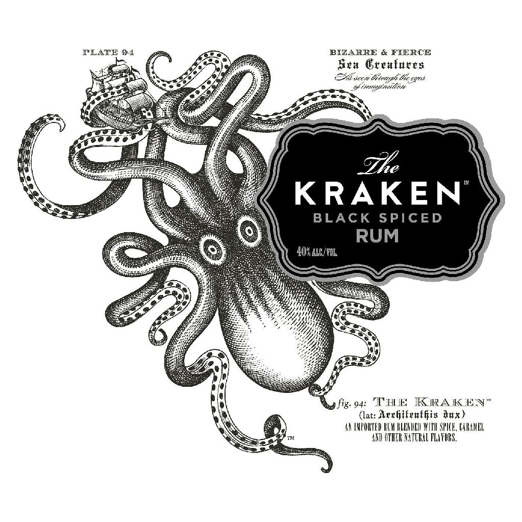Spirits Kraken Black Spiced Rum