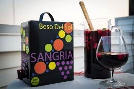 Wine Beso del Sol Red Sangria 3L in a Box