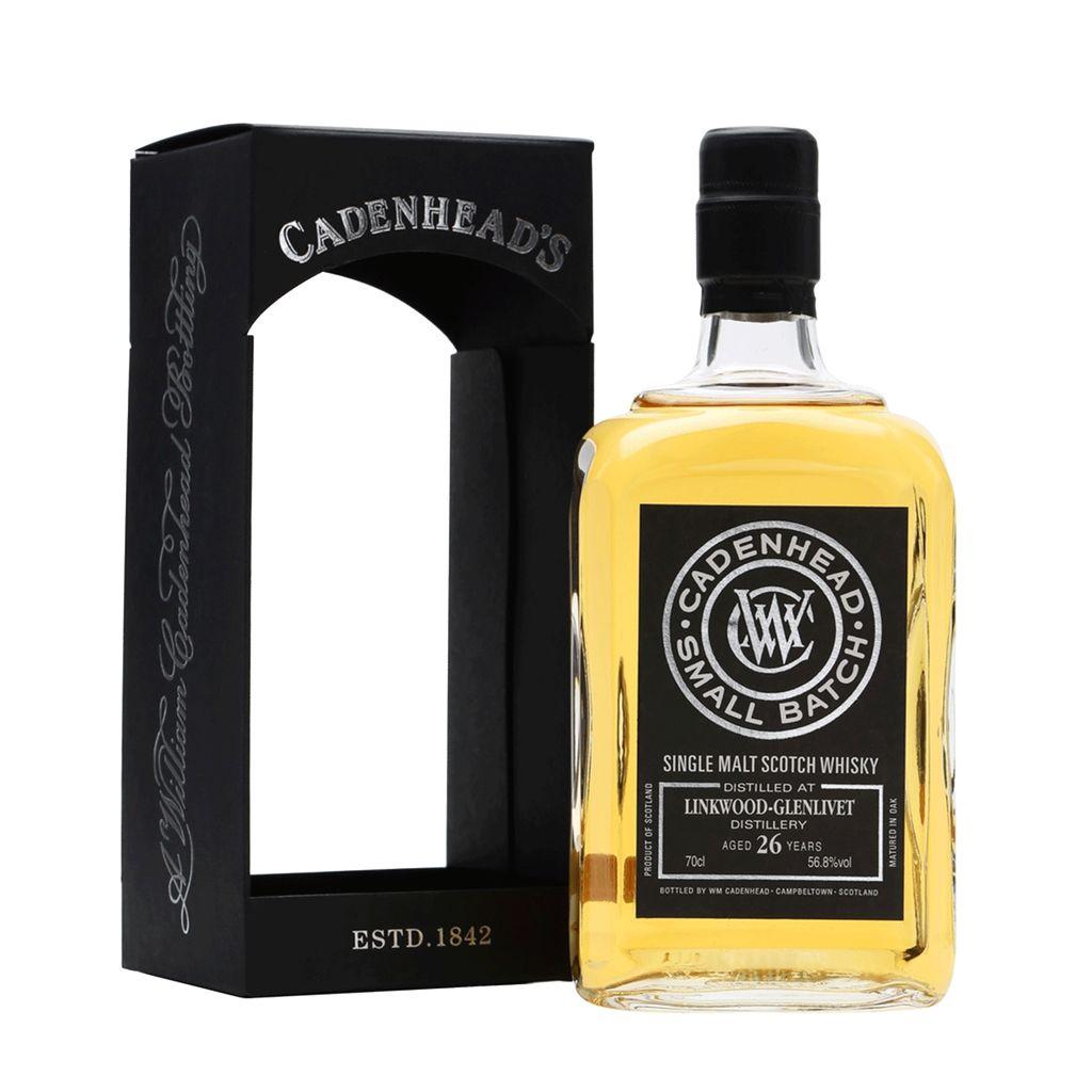 Spirits Linkwood-Glenlivet Scotch Single Malt 26 Year By Cadenhead