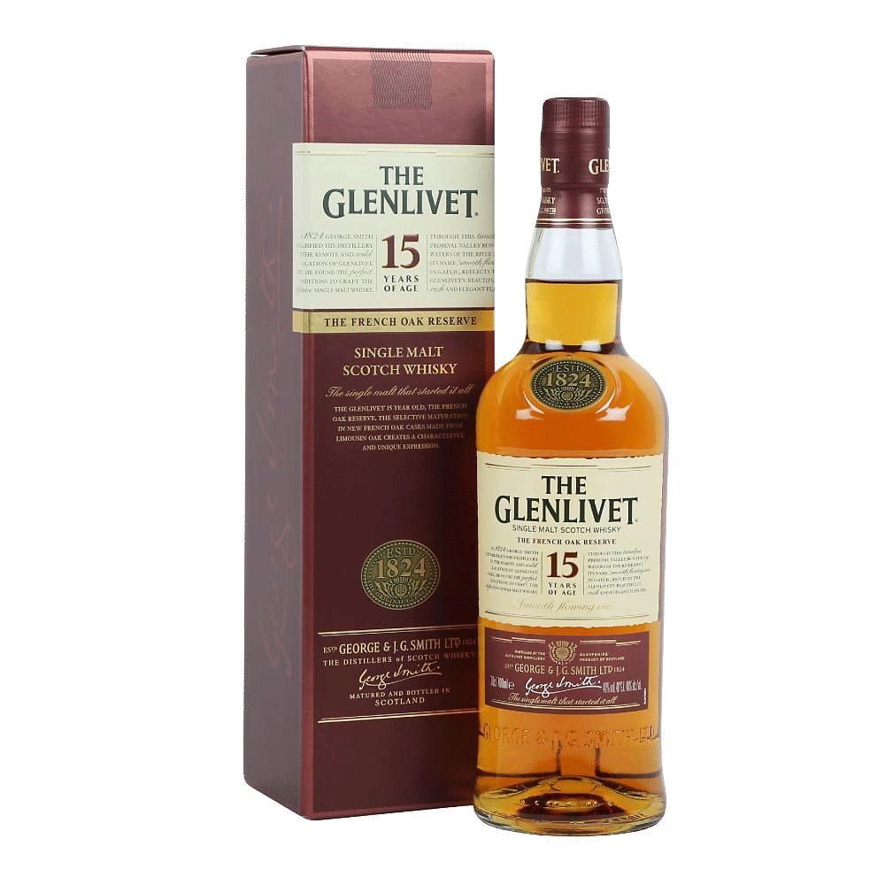Spirits The Glenlivet 15 Year French Oak Reserve Single Malt Scotch