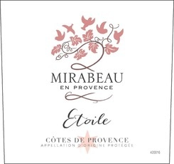 Wine Mirabeau Cotes de Provence Etoile Rose 2017