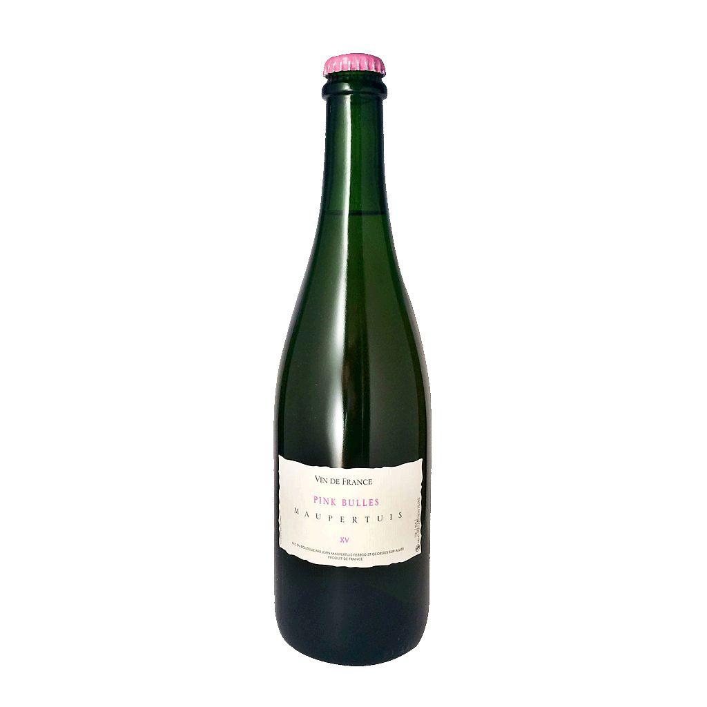 Wine Jean Maupertuis 'Pink Bulles' Rose Pet Nat 2017