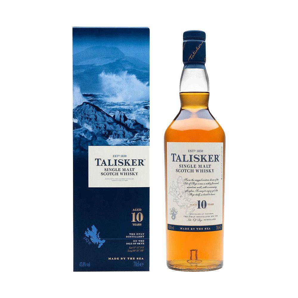 Spirits Talisker 10 Year Isle of Skye Scotch