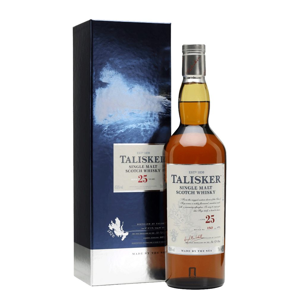 Spirits Talisker 25 Year Scotch