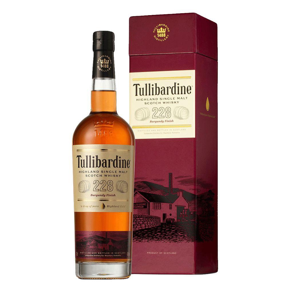 Spirits Tullibardine 228 HIghland Single Malt Burgundy Finish