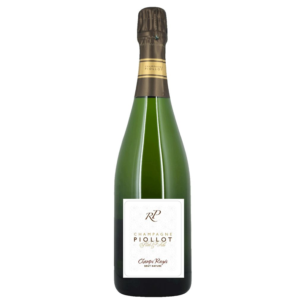 Wine Piollot Champagne Brut Nature 'Champs Rayés' 2010
