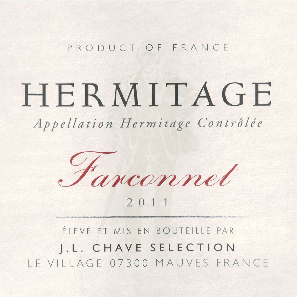 Wine JL Chave Selection Hermitage Farconnet 2011