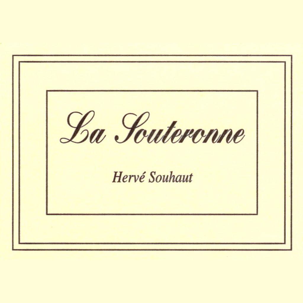 Wine Herve Souhaut La Souteronne 2016