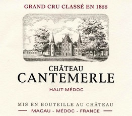 Wine Chateau Cantemerle 2010