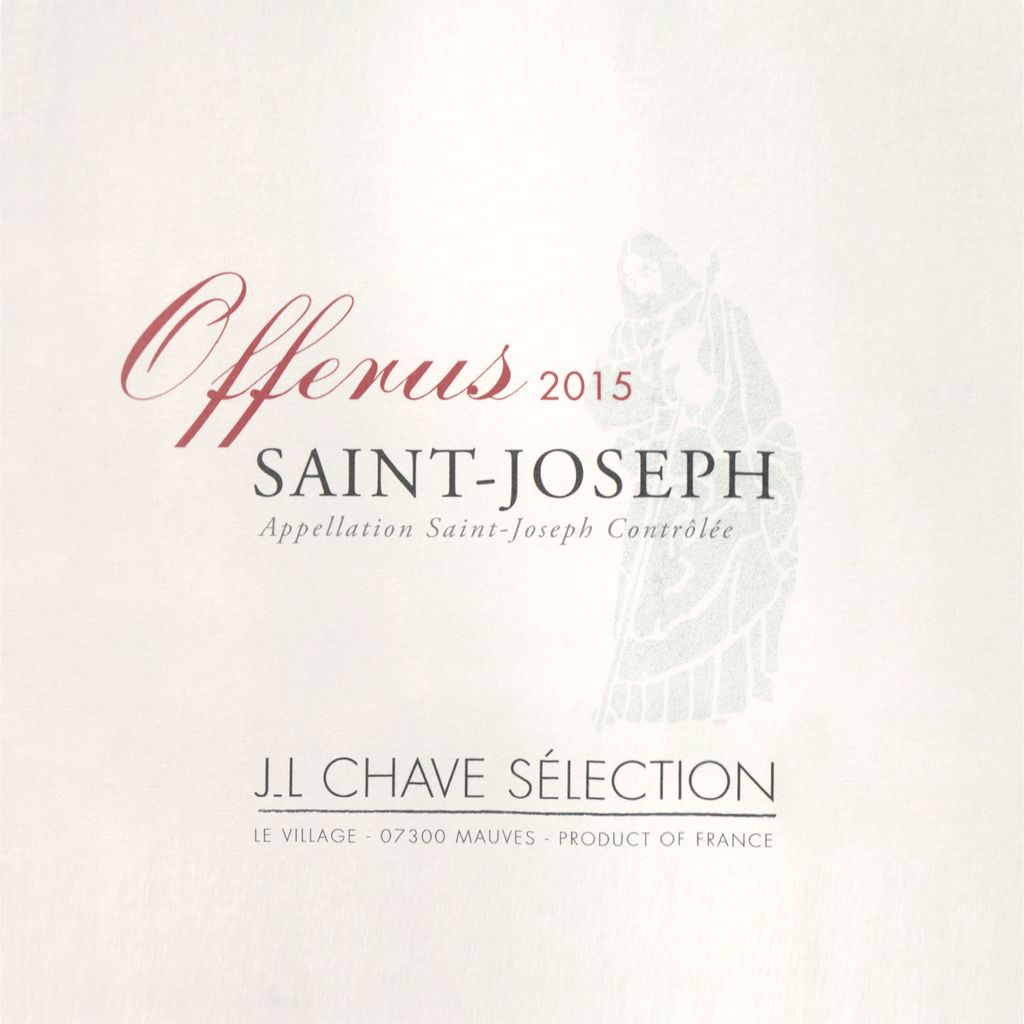 Wine Jean-Louis Chave Selection Saint Joseph Offerus 2015