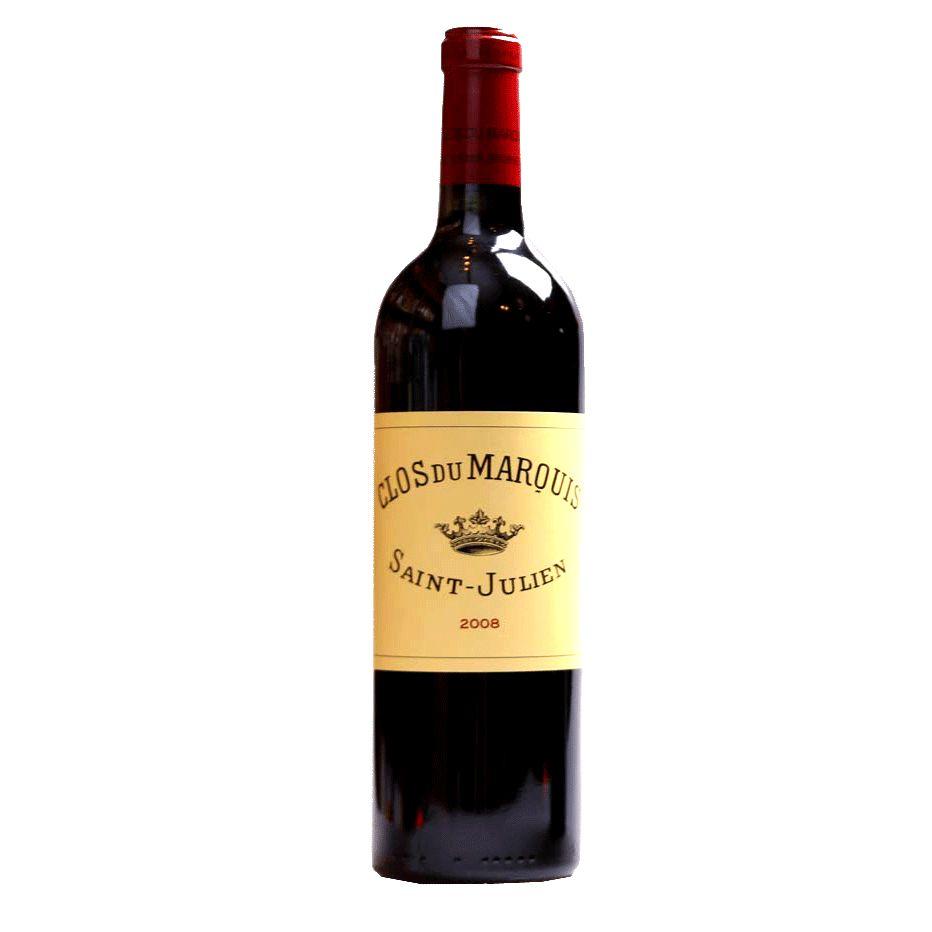 Wine Chateau Leoville Las Cases Clos Du Marquis 2008