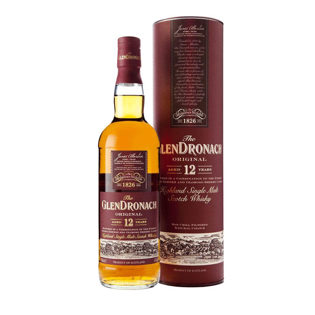 Spirits The GlenDronach 12 Year Old Single Malt Scotch Whisky