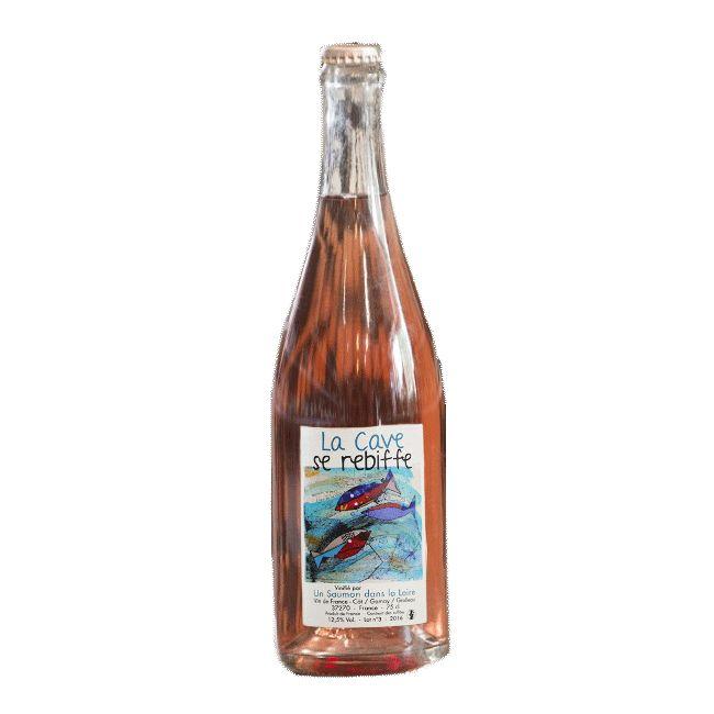 Sparkling Frantz Saumon 'La Cave Se Rebiffe' Rose Petillant NV