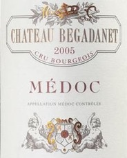 Wine Chateau Begadanet Medoc 2005