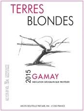 Wine Terres Blondes Gamay 2017