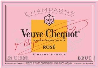 Sparkling Veuve Clicquot, Champagne Brut Rosé Reserve Cuvée