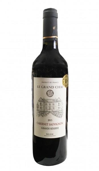 Wine Le Grand Chai Cabernet Sauvignon Grande Reserve 2015 Kosher