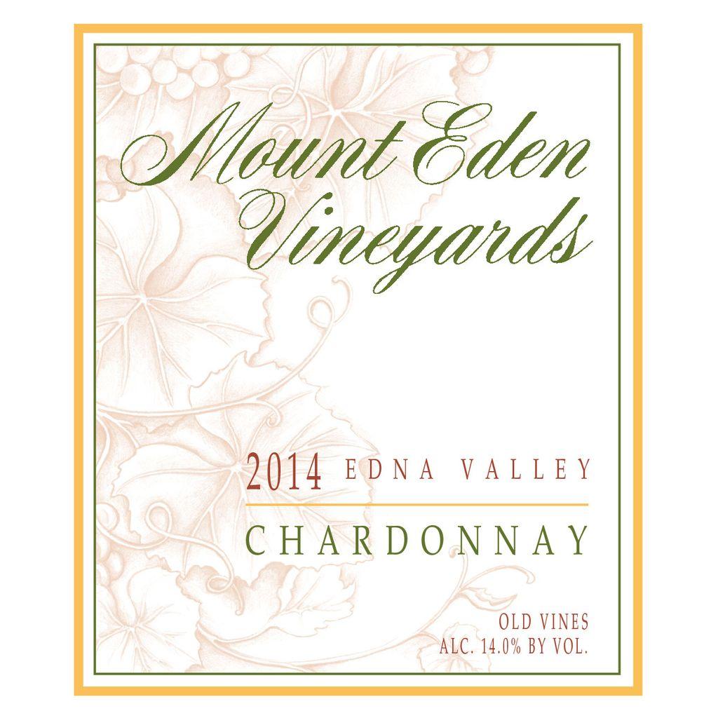 Wine Mount Eden Vineyards Edna Valley Chardonnay 2015