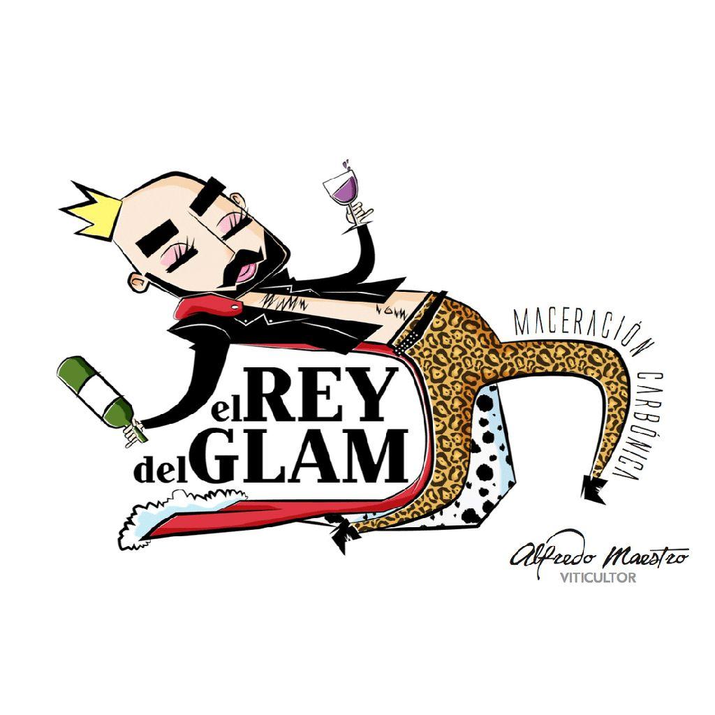 Wine Alfredo Maestro Rey Del Glam 2017
