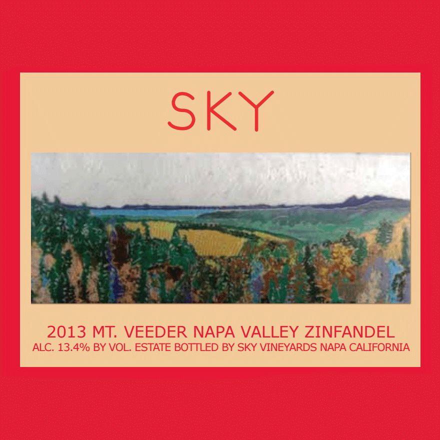 Wine Sky VIneyards Zinfandel Mt Veeder Napa Valley 2013