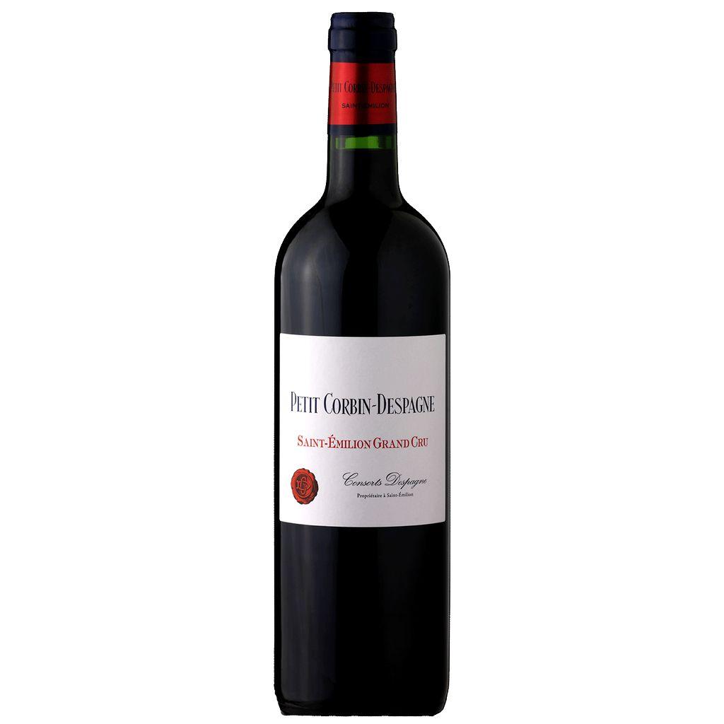 Wine Château Grand Corbin-Despagne, Petit Corbin-Despagne Saint-Émilion 2014