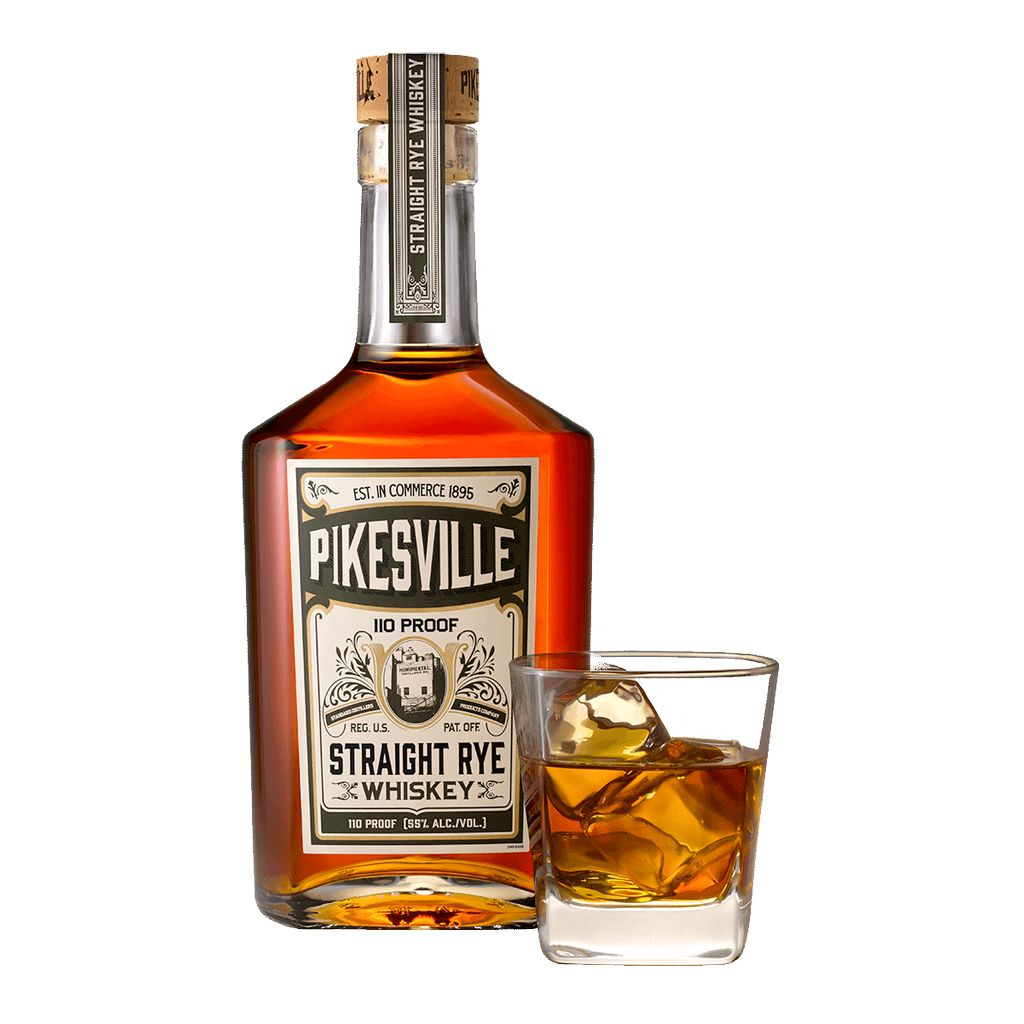 Spirits Pikesville Straight Rye Whiskey