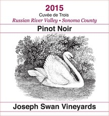 Wine Joseph Swan Pinot Noir 'Cuvee de Trois' 2014