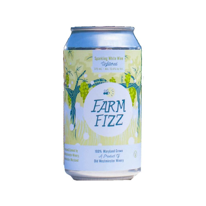 Sparkling Old Westminster Farm Fizz CAN 375 ml