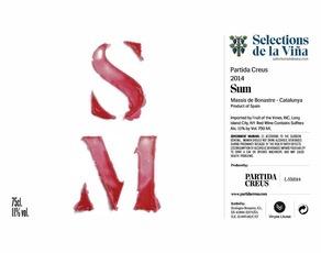 Wine Partida Creus Sumoll 'SM' 2016