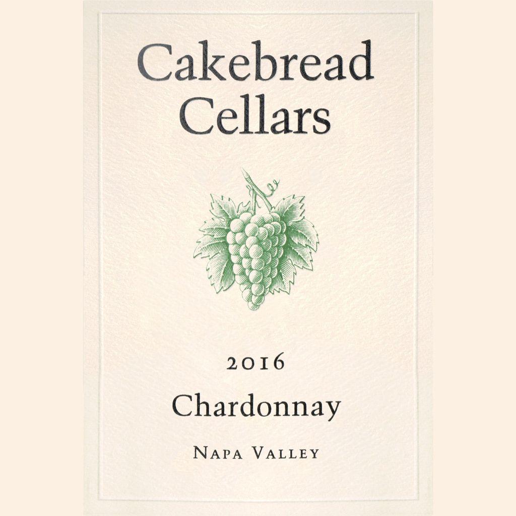 Wine Cakebread Cellars Chardonnay Napa Valley 2016