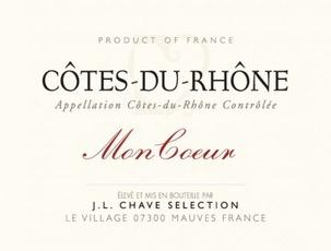 Wine Domaine Jean-Louis Chave Cotes du Rhone Mon Coeur 2016