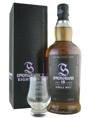 Spirits Springbank Campbletown 18 Year Single Malt Scotch