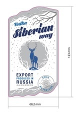 Spirits Siberian Way Kremlin Award Vodka