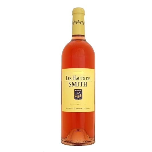 Wine Chateau Smith Haut Lafitte, Les Hauts De Smith Rose 2017