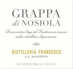 Wine Distilleria Francesco Grappa di Nosiola