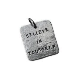 Fashletics Believe in Yourself Square Charm
