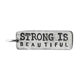 Fashletics Strong Is Beautiful - Pewter