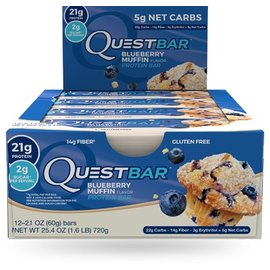Quest Quest Protein Bar/Blueberry Muffin INDIVIDUAL BAR