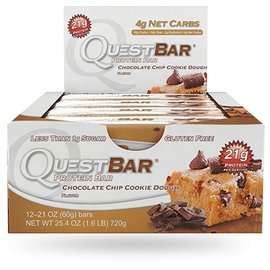 Quest Quest Protein Bar/Chocolate Chip Cookie Dough INDIVIDUAL BAR